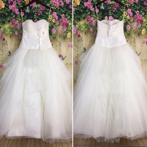 Galina Ivory Tulle Wedding Gown NWT Size 10